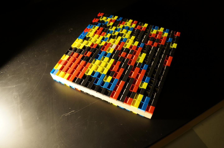 Lego-Like Wall Produces Acoustic Holograms