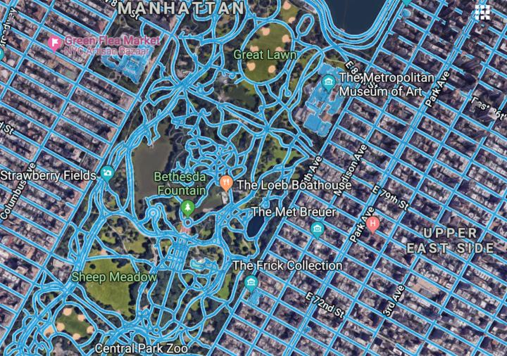 An AI that Makes Road Maps from Aerial Images