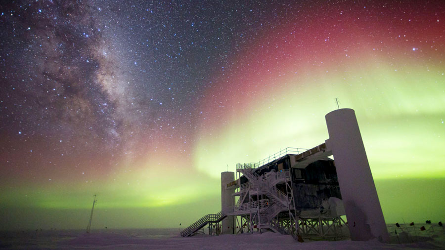 NSF's IceCube Observatory Finds First Evidence of Cosmic Neutrino Source