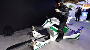 Dubai Police Will Soon Zoom Around the Sky on Hoverbikes