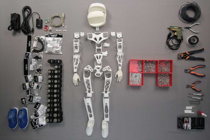 Meet Poppy, the Printable Robot