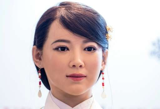 Chinese Humanoid Robot Turns on the Charm in Shanghai